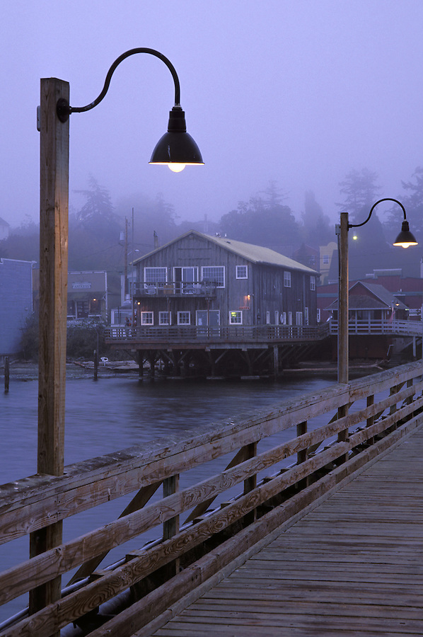 Coupeville waterfront and wharf, Ebey's Landing National Historic Reserve, Coupeville, Whidbey Island, Washington