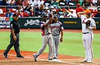 Abiatal Avelino de &Aacute;guilas Cibae&ntilde;as de Republica Dominicana .<br /> <br /> Aspectos del segundo d&iacute;a de actividades de la Serie del Caribe con el partido de beisbol  &Aacute;guilas Cibae&ntilde;as de Republica Dominicana contra Caribes de Anzo&aacute;tegui de Venezuela en estadio Panamericano en Guadalajara, M&eacute;xico,  s&aacute;bado 3 feb 2018. (Foto  / Luis Gutierrez)