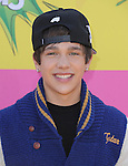 Austin Mahone at The Nickelodeon's Kids' Choice Awards 2013 held at The Galen Center in Los Angeles, California on March 23,2013                                                                   Copyright 2013 Hollywood Press Agency