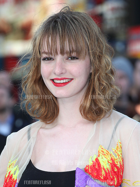 Dakota Blue Richards arriving for the UK premiere of 'Star Trek Into Darkness' at The Empire Cinema, London. 02/05/2013 Picture by: Alexandra Glen / Featureflash
