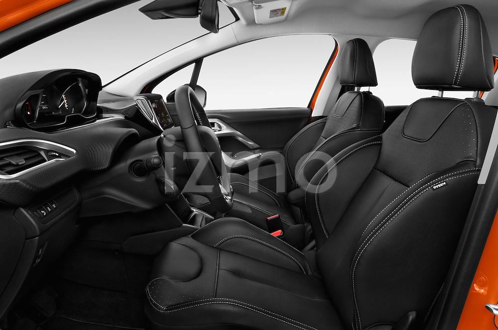 Front seat view of 2015 Peugeot 208 Allure 5 Door Hatchback Front Seat  car photos