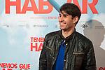 "Daniel Muriel attends to the premiere of the spanish film ""Tenemos que Hablar"" in Madrid, February 25, 2016. (ALTERPHOTOS/BorjaB.Hojas)"