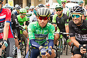 6th September 2017, Mansfield, England; OVO Energy Tour of Britain Cycling; Stage 4, Mansfield to Newark-On-Trent;  GC General Clasification  leader, Caleb Ewan, waits for stage 4 to commence