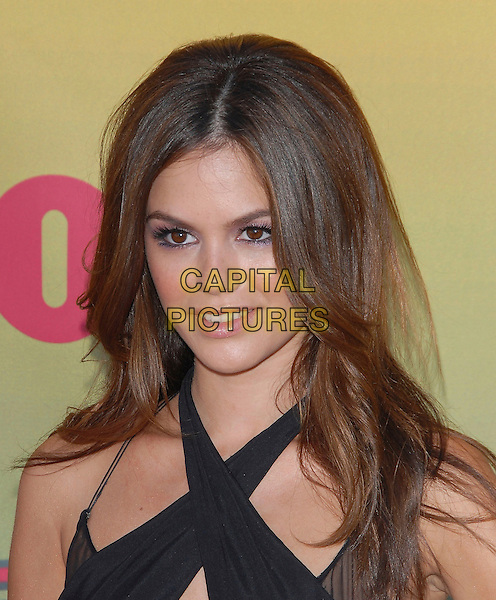 RACHEL BILSON.At The 2006 Teen Choice Awards - Arrivals, .held at The Universal Ampitheatre in Universal City, California, USA, August 20th 2006..portrait headshot black halterneck dress cross-over  purple lilac eyeshadow.Ref: DVS.www.capitalpictures.com.sales@capitalpictures.com.©Debbie VanStory/Capital Pictures