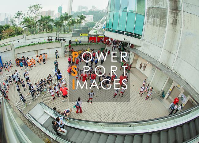 Cathay Pacific / HSBC Hong Kong Sevens 2012 at the Hong Kong Stadium in Hong Kong, China on 23rd March 2012. Photo © Mike Pickles / PSI for HKRFU