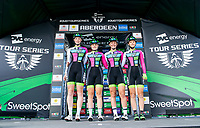 Picture by Allan McKenzie/SWpix.com - 17/05/2018 - Cycling - OVO Energy Tour Series Womens Race - Round 2:Aberdeen - Team YRDP sign on.