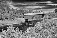 McCann or Didgeguash River #4  covered bridge (1938)<br />