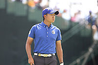 Shugo Imahira (JPN) on the 10th tee during Friday's Round 2 of the 117th U.S. Open Championship 2017 held at Erin Hills, Erin, Wisconsin, USA. 16th June 2017.<br /> Picture: Eoin Clarke | Golffile<br /> <br /> <br /> All photos usage must carry mandatory copyright credit (&copy; Golffile | Eoin Clarke)