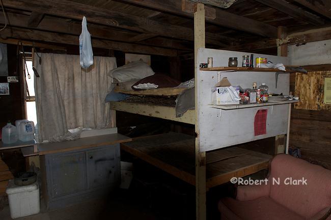 Interior of Miner's shack