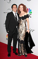 US actor Oscar Nunez arrives with his wife at the NBC/Universal Pictures/Focus Features Golden Globes after party at the Beverly Hilton Hotel, Beverly Hills, California, USA, on January 11, 2009.  The Golden Globes honour excellence in film and television.