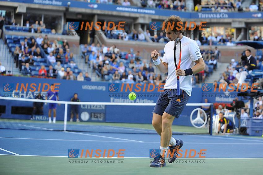 Andy Murray (GBR).New York 10/09/2012 Tennis - US Open Grande Slam.Foto Insidefoto /Virginie Bouyer / Panoramic.ITALY ONLY.