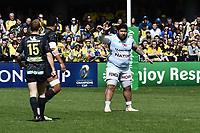 Ben Tameifuna of Racing during the Champions Cup match between ASM Clermont and Racing 92 on April 1, 2018 in Clermont, France. (Photo by Alexandre Dimou/Icon Sport)