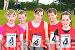 Tarbert athletes Katie Lehane, Dale Mulvihill, Darragh McDonnell, Shea McDonnell and Joanne McDermott at the Denny County Community Games in An Riocht Castleisland on Sunday   Copyright Kerry's Eye 2008
