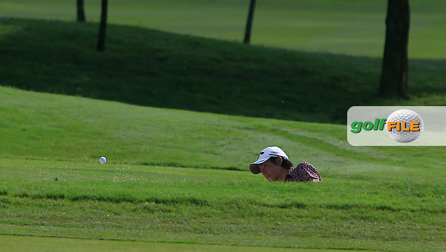 Ryo Ishikawa (JPN) on the 6th during Round 4 of the CIMB Classic in the Kuala Lumpur Golf &amp; Country Club on Sunday 2nd November 2014.<br /> Picture:  Thos Caffrey / www.golffile.ie