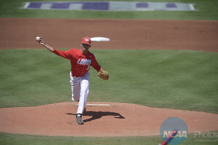 22 May 2014: New Mexico against San Diego State during the Mountain West Baseball Championship Tournament at Earl E. Wilson Baseball Stadium in Las Vegas, NV. Peter Lockley/NCAA Photos