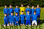 The Ballyhar team that played Castleisland AFC in the U13 League in Ballyhar on Saturday front row l-r: Stephen Palmer, Declan O'Connor, Colin Callaghan, Conall O'Mahony, Luke Ring, Aaron Burke, Back row: Cormac Costello, Noel McMahon, Jack Costello, Brian McCarthy, Luke Costello, Padraig Fell, James Horgan