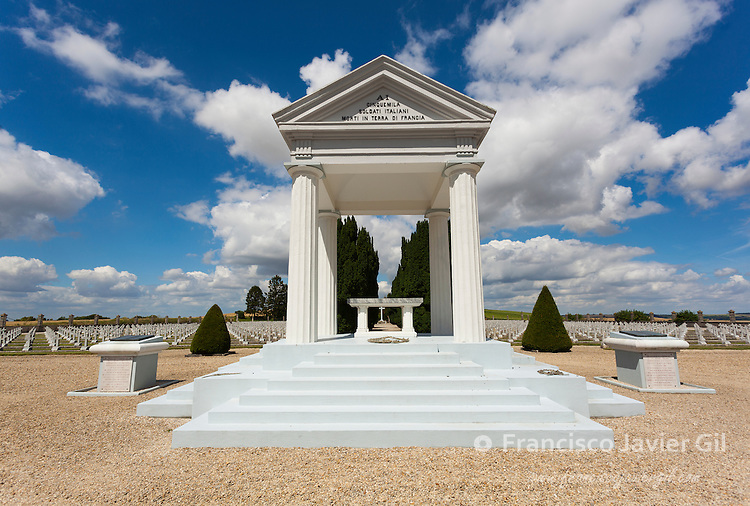 Italian cemetery, Chambrecy, Alsace-Champagne-Ardenne-Lorraine, France