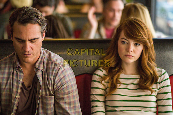 Joaquin Phoenix, Emma Stone  <br /> in Irrational Man (2015) <br /> *Filmstill - Editorial Use Only*<br /> CAP/NFS<br /> Image supplied by Capital Pictures