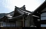 Dai Hojo Abbot's Quarters, Tenryuji Heavenly Dragon Temple, Kyoto, Japan