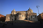 Italy, Rome, November 1, 2011..General view of the Santa Marie Maggiore in Rome November 1, 2011. VIEWpress / Kena Betancur.Rome is the capital of Italy and the country's largest and most populated city and comune, with over 2.7 million residents in 1,285.3 km2 (496.3 sq mi). The city is located in the central-western portion of the Italian Peninsula, on the Tiber River within the Lazio region of Italy.