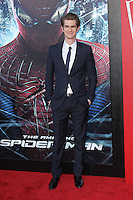 Andrew Garfield at the premiere of Columbia Pictures' 'The Amazing Spider-Man' at the Regency Village Theatre on June 28, 2012 in Westwood, California. &copy; mpi22/MediaPunch Inc. *NORTEPHOTO.COM*<br />