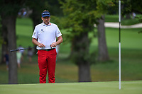 Ian Poulter (GBR) looks over his birdie putt on 4 during Rd3 of the 2019 BMW Championship, Medinah Golf Club, Chicago, Illinois, USA. 8/17/2019.<br /> Picture Ken Murray / Golffile.ie<br /> <br /> All photo usage must carry mandatory copyright credit (© Golffile   Ken Murray)