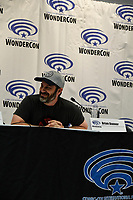 Brian Danner at Wondercon in Anaheim Ca. March 31, 2019