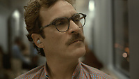 Her (2013) <br /> Joaquin Phoenix<br /> *Filmstill - Editorial Use Only*<br /> CAP/KFS<br /> Image supplied by Capital Pictures