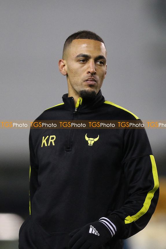 Kemar Roofe of Oxford United looks on ahead of kick-off during Millwall vs Oxford United at The Den