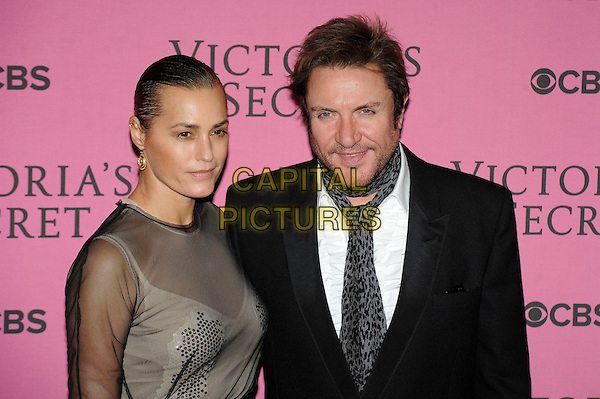 LONDON, ENGLAND - DECEMBER 2: Yasmin Le Bon and Simon Le Bon attend the pink carpet for Victoria's Secret Fashion Show 2014, Earls Court on December 2, 2014 in London, England.<br /> CAP/MAR<br /> &copy; Martin Harris/Capital Pictures
