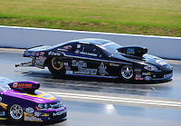 Apr. 29, 2011; Baytown, TX, USA: NHRA pro stock driver Erica Enders during qualifying for the Spring Nationals at Royal Purple Raceway. Mandatory Credit: Mark J. Rebilas-