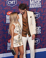 NASHVILLE, TENNESSEE - JUNE 05: Maren Morris, Ryan Hurd attend the 2019 CMT Music Awards at Bridgestone Arena on June 05, 2019 in Nashville, Tennessee. <br /> CAP/MPI/IS/NC<br /> ©NC/IS/MPI/Capital Pictures