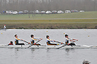 083 WindsorBoysSch J16A.4+..Marlow Regatta Committee Thames Valley Trial Head. 1900m at Dorney Lake/Eton College Rowing Centre, Dorney, Buckinghamshire. Sunday 29 January 2012. Run over three divisions.