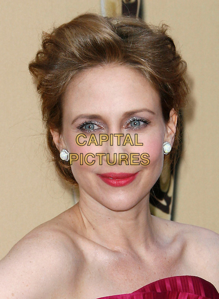 VERA FARMIGA.The 82nd Annual Academy Awards held aat The Kodak Theatre in Hollywood, California, USA..March 7th, 2010.oscars headshot portrait pink red lipstick strapless.CAP/EAST.©Eastman/Capital Pictures.
