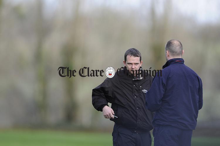 Clare v LIT hurling at Meelick.Pic Arthur Ellis. Davy Fitzgerald LIT.Pic Arthur Ellis.