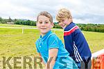 James O'Neill and Kieran Murphy enjoying the races in Castleisland Races on Sunday afternoon