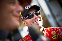 Kevin Harvick (#29) knew that the chance of both rivals having a bad day was unlikly but enjoyed the role as dark horse.