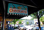 Checkers in Calistoga