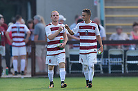 Stanford, CA - September 3, 2017: Stanford defeats the Northeastern Huskies 1-0 in a Men's soccer game at Laird Q. Cagan Stadium.