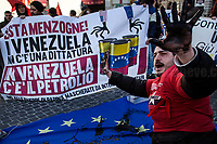 23.02.2019 - Giù Le Mani Dal Venezuela - Protest in Rome: Hands Off Venezuela