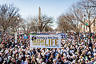 January 19, 2018; March for Life in Washington D.C. (Photo by Matt Cashore/University of Notre Dame)