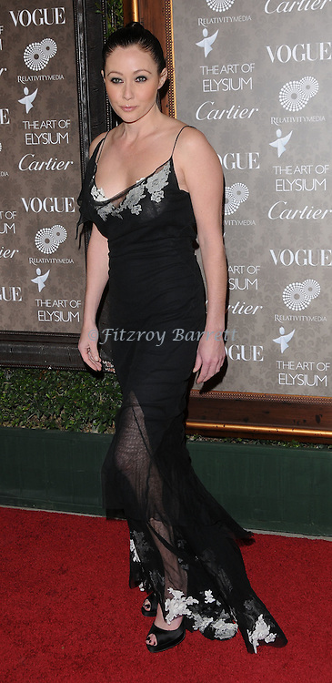 "Shannen Doherty arriving at The Art of Elysium 2nd Annual Black Tie Charity Gala ""Heaven"" held at The Vibiana  Los Angeles, Ca. January 10, 2009. Fitzroy Barrett"