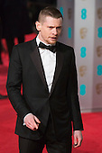 London, UK. 14 February 2016. Jack O'Connell. Red carpet arrivals for the 69th EE British Academy Film Awards, BAFTAs, at the Royal Opera House. © Vibrant Pictures/Alamy Live News