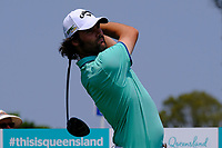 Simon Hawkes (AUS) on the 3rd tee during round 3 of the Australian PGA Championship at  RACV Royal Pines Resort, Gold Coast, Queensland, Australia. 21/12/2019.<br /> Picture TJ Caffrey / Golffile.ie<br /> <br /> All photo usage must carry mandatory copyright credit (© Golffile | TJ Caffrey)