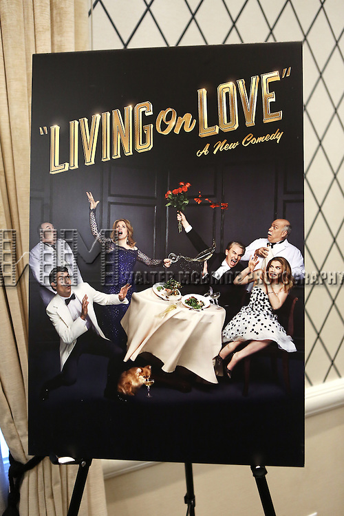 'Living on Love' photo call at the Empire Hotel on March 12, 2015 in New York City.