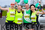 Mike Kissane, Theresa Grimes, Paul Sheehan and Rachel Stokes runners at the Kerry's Eye Tralee, Tralee International Marathon and Half Marathon on Saturday.