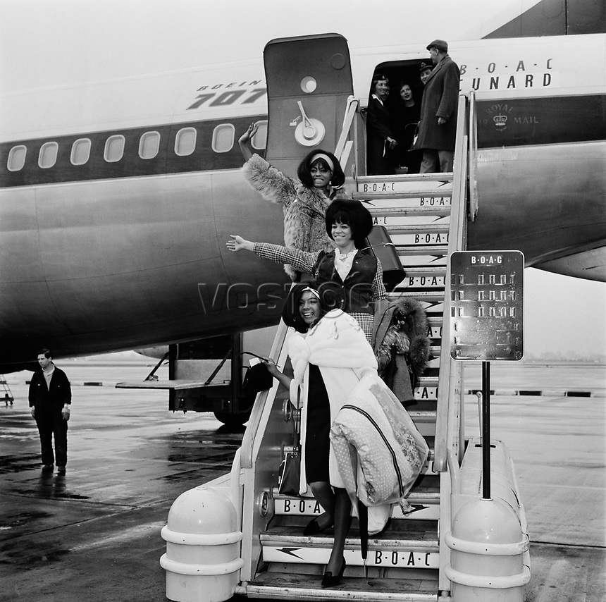 The Supremes Arrive In London | ProfusionStock