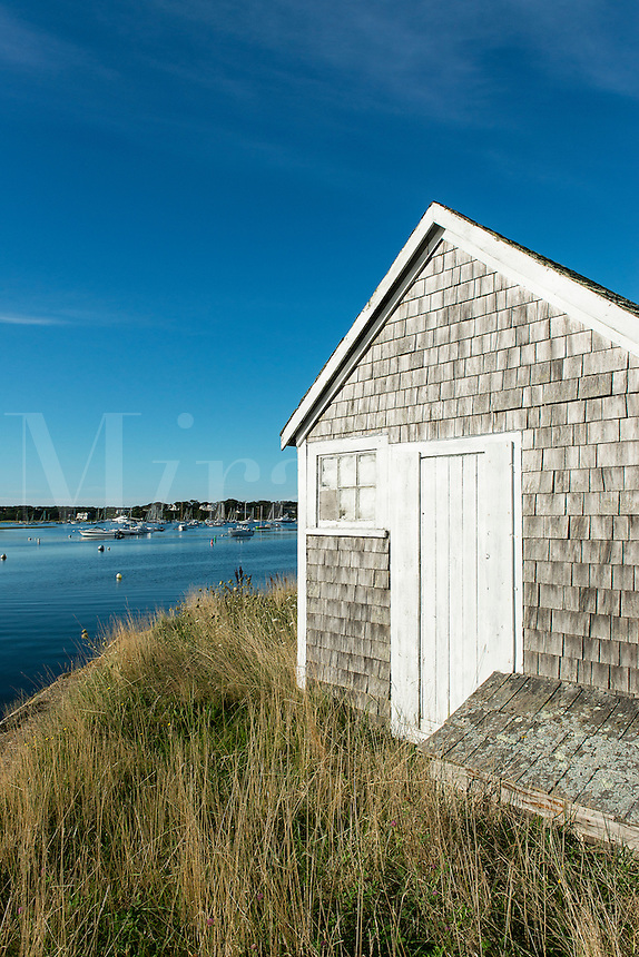 Rustic coastal shack, Chatham, Cape Cod, Massachusetts, USA