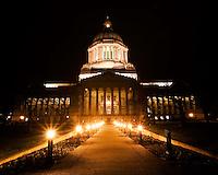 Landscape images from Olympia, Washington.