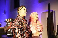 """Alexa Rockstroh und Tobias Stein singen ein Stück aus """"Starlight Express"""" - Gross-Gerau 01.10.2016: Musical Benefizshow für BIA Foundation für Kinder in Nepal in der Groß-Gerauer Stadtkirche"""